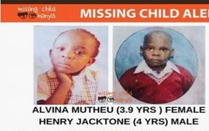 Mystery of Two Missing Children Found Dead in Athi River Police Station