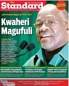 Tanzania Mourns Magufuli