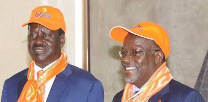 Raila Eulogises Magufuli